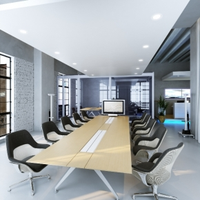besprechungsraum in Loft - meeting room in Loft office