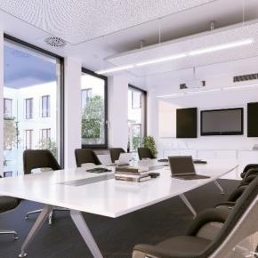 moderer Konferenzraum - modern meeting room